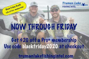 Truman Lake Fishing Intel Coupon
